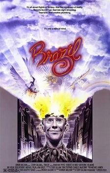 Poster for movie Brazil