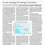 A New Strategy for Energy Innovation Cover