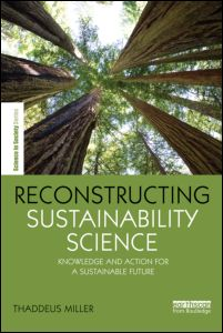 cover of Reconstruction Sustainability Science by Thaddeus Miller